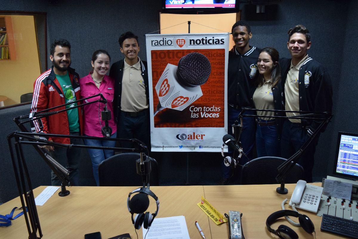 Lasallistas del Sector Venezuela participaron en programa Zona AVEC