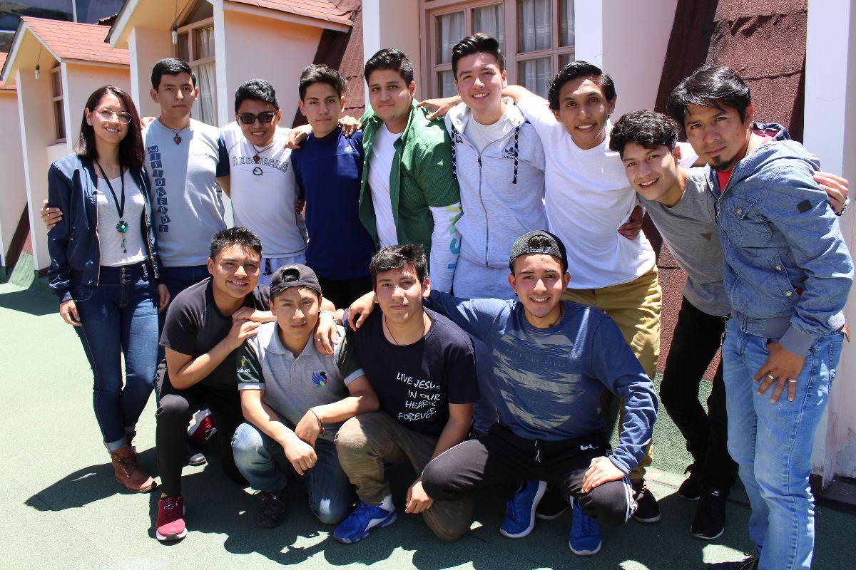Curso de Inducción del Voluntariado, Sector Ecuador